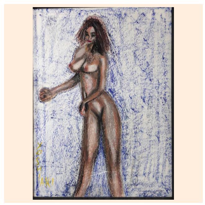 美少女裸婦、セレナーデ