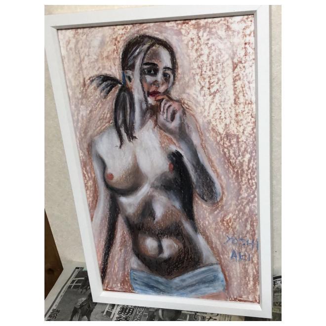 美少女裸婦、見つめて欲しい