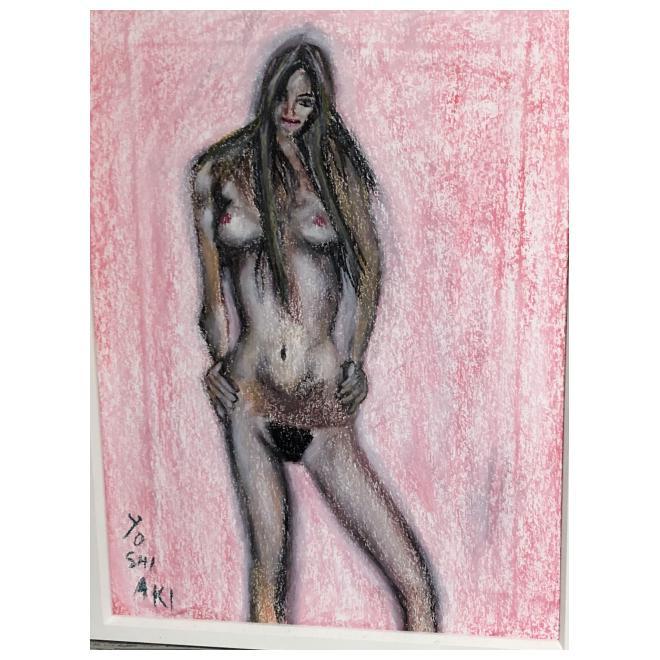 美少女裸婦、抱きしめ