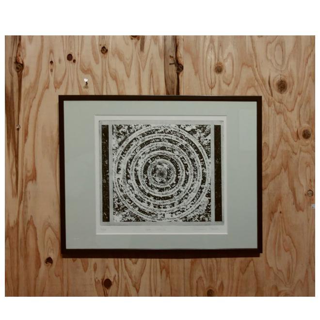 額装銅版画:code-circle
