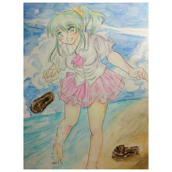海辺の彼女
