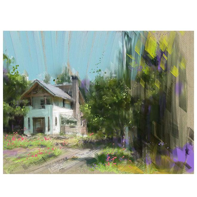 森の別荘-1