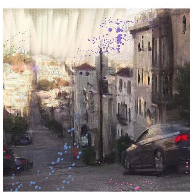 San Franciscoの坂道