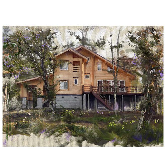 森の別荘-2