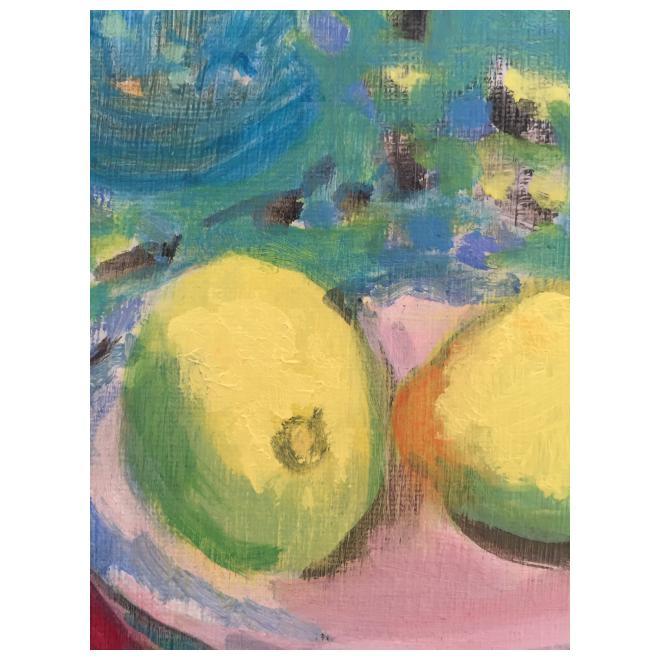 レモンのある静物