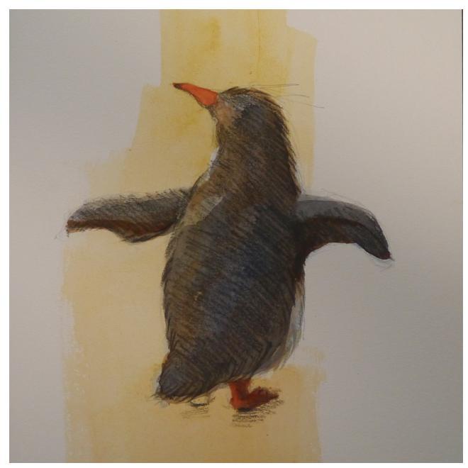たたずむペンギン-1