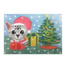 クリスマスの猫