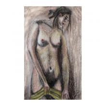 美少女裸婦、プライベートルーム