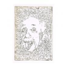 銅版画シート:アインシュタイン ブレイン