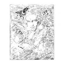 銅版画シート:ベートーベン ブレイン
