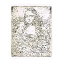 銅版画シート:ダビンチ ブレイン