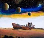 宇宙船地球号・アラル海の惨状