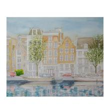 水辺に映えるーアムステルダムー