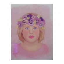 花冠の少女の少女