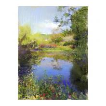 ある晴れた日の静かな沼