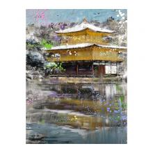 雪の金閣寺