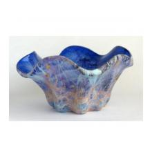 紙彩流装飾花瓶
