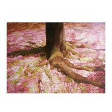 桜の木の下で