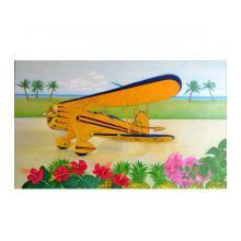 黄色い飛行機
