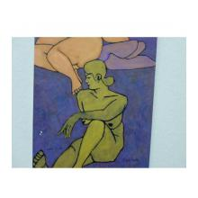 二人の裸婦
