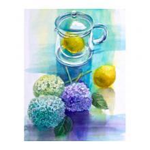 レモンと紫陽花