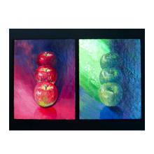 赤い林檎と青い林檎