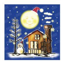 おつきさんとクリスマス